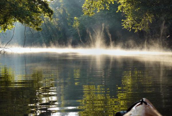 Фото Могильного озера в Мурманская области