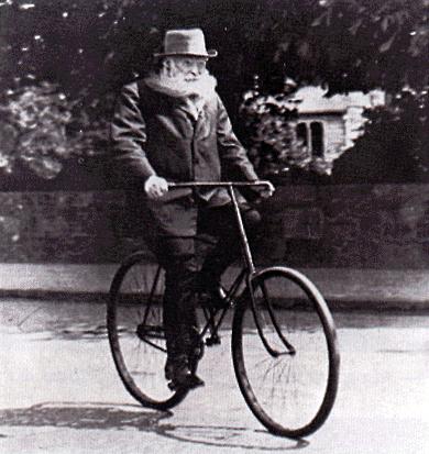 Фото изобретателя шины для велосипедов