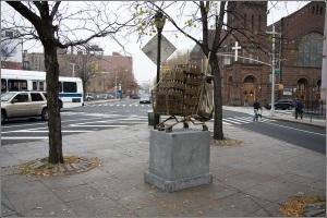 Памятник тележке для продуктов