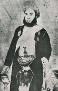 Фотография султана Хамад ибн Тувайни