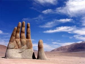 Рука пустыни Атакама